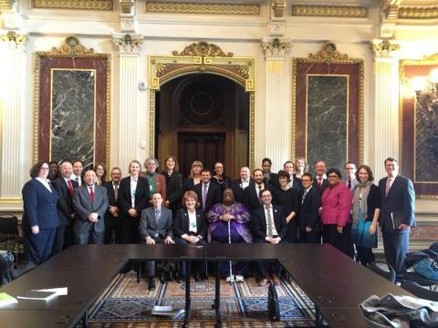 trans activists meet at the White House