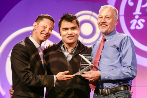 Jose Antonio Vargas accepts the first-ever