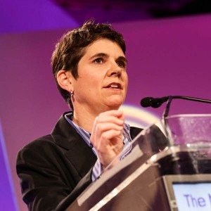 Task Force Executive Director Rea Carey delivers the State of the Movement at the 25th National Conference on LGBT Equality: Creating Change.