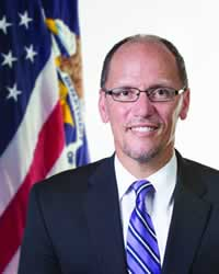 Labor Secretary Thomas Perez