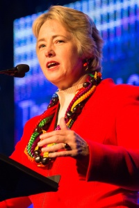 Houston Mayor Annise Parker welcomes Creating Change to Houston.