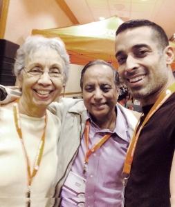 Shobha Bajaj, Shiv Bajaj and Saurabh Bajaj