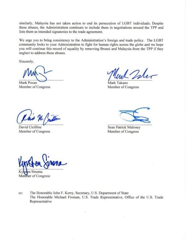 TPP Letter 2