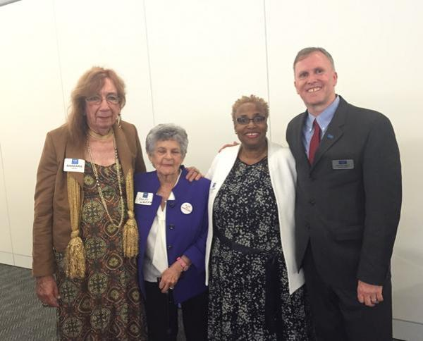 Barbara Satin Assistant Faith Work Director, National LGBTQ Task Force; Sandy Warshaw, LGBTQ Activist;   Dr. Imani Woody: Founding Director and President, Mary's House For Older Adults;  Michael Adams:  Executive Director of SAGE